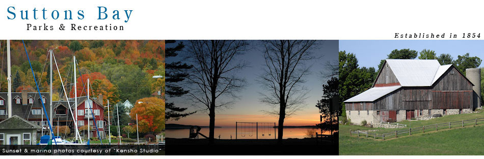 Suttons Bay Township - Parks and Recreation - Herman Community Park